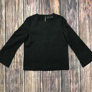 Blaque Label Long Sleeve Black Blouse,  Size S